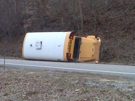 Kentucky School Bus Accident Injures Children In Eastern Kentucky